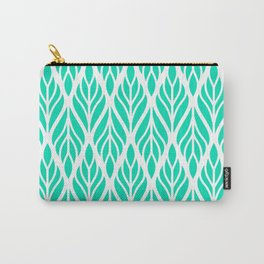 Turquoise Waves Carry-All Pouch