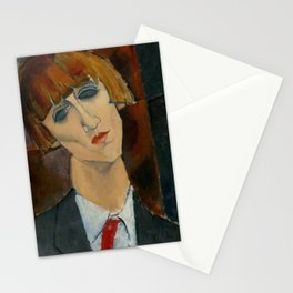 "Amedeo Modigliani ""Madame Kisling""(1917) Stationery Cards"