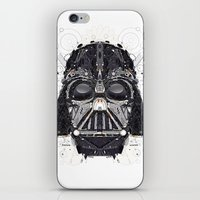 darth iPhone & iPod Skins featuring darth vader by yoaz