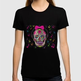 Sugar Skull Music T-shirt