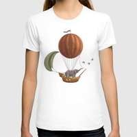 adventure T-shirts featuring Adventure Awaits  by Terry Fan