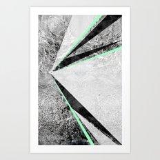 GEO BURST II Art Print