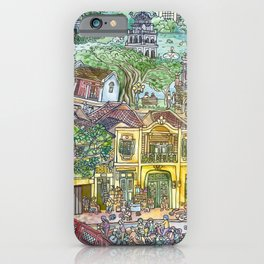 THE OLD QUARTER HANOI iPhone Case