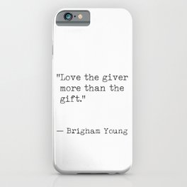 Christmas quote 3 iPhone Case
