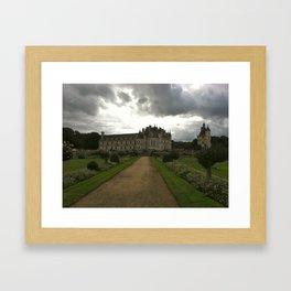 Chateau de Chenonceau 1 Framed Art Print