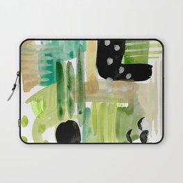 Garden Fern Abstract Laptop Sleeve