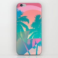 hotline miami iPhone & iPod Skins featuring MIAMI by DIVIDUS
