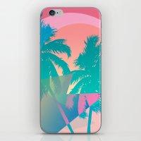 hotline miami iPhone & iPod Skins featuring MIAMI by DIVIDUS DESIGN STUDIO