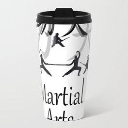 Martial Arts Kung Fu Travel Mug