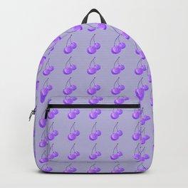 Purple Cherries Backpack
