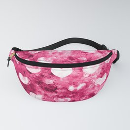 Abstract Hearts Fanny Pack