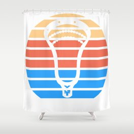Lacrosse CaliCo Shower Curtain