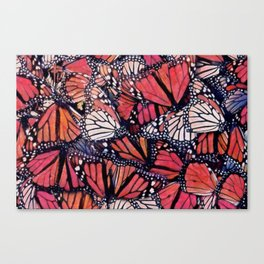 Monarch Butterflies II Canvas Print