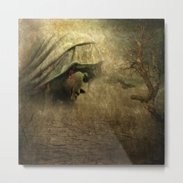 forgotten in time -1- Metal Print
