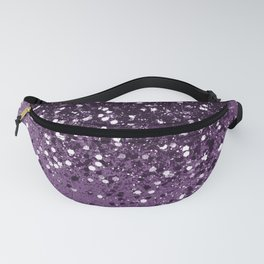 PURPLE Glitter Dream #1 #shiny #decor #art #society6 Fanny Pack