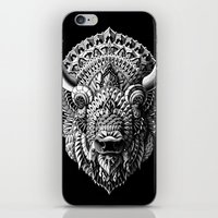 bison iPhone & iPod Skins featuring Bison by BIOWORKZ