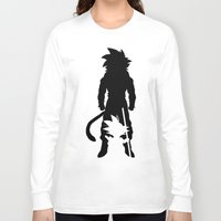 goku Long Sleeve T-shirts featuring GOKU by Consuelo Castaneda