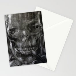 Death Smokes Stationery Cards