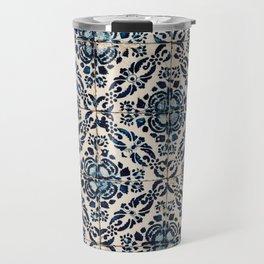 Azulejo IX - Portuguese hand painted tiles Travel Mug