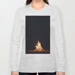 BONFIRE - FIRE - HOT - PHOTOGRAPHY Long Sleeve T-shirt