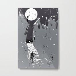 Moonlight Town (Dreamscapes) Metal Print