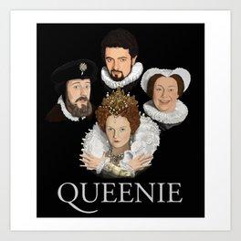 """""""Queenie"""" Art Print"""