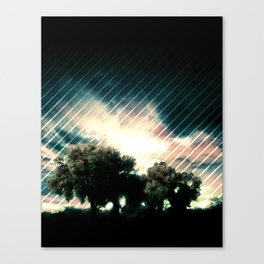 Exiting Eden Canvas Print