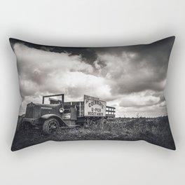 Pensive Rectangular Pillow