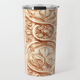 carved stonework Travel Mug