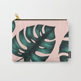 Philodendron Monstera Carry-All Pouch