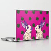 coral Laptop & iPad Skins featuring coral by Gray