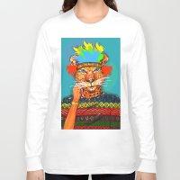 navajo Long Sleeve T-shirts featuring Navajo Dreams by terezamc.