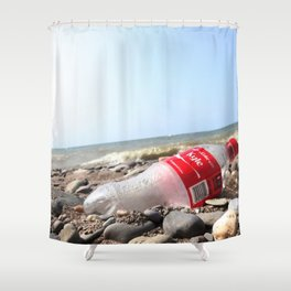 Just Don't Leave That Personalized Coke Bottle at the Scene of the Crime... Shower Curtain