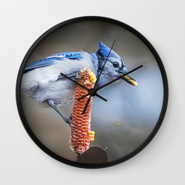 Perfect Straddle Wall Clock