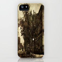 Washington Street Scene iPhone Case