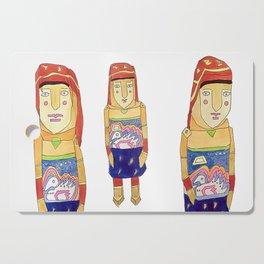 Guna Wood Dolls Cutting Board