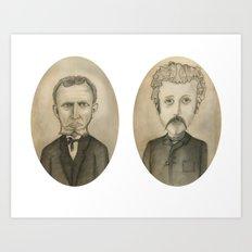 Nose Hair Art Print