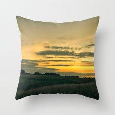 Dublin Sunset Throw Pillow