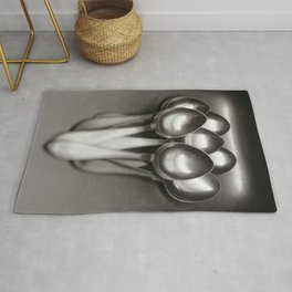 Spoons in the kitchen sink Rug
