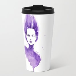 Purple Water Faery Travel Mug