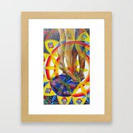 Supported Framed Art Print