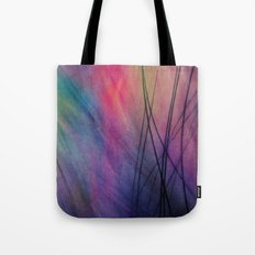Tropical Feather Abstract Tote Bag