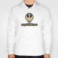 nfl Hoodies featuring New Orleans Squadrons - NFL by Steven Klock
