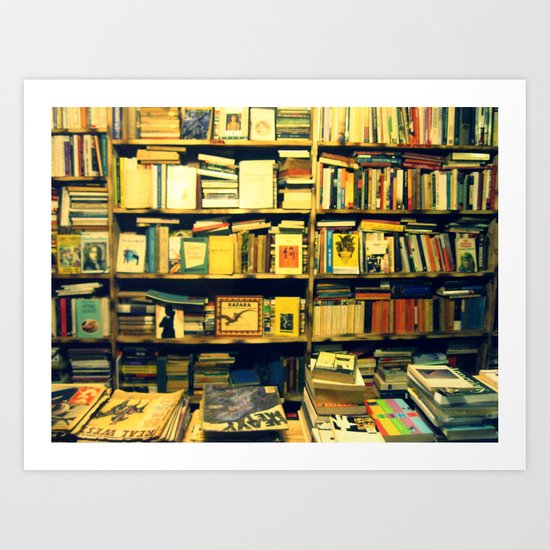 books, books and books Art Print