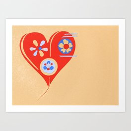 For The Love Of ... Art Print