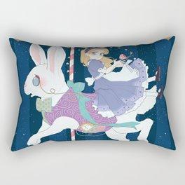 Carousel: World of My Own Rectangular Pillow