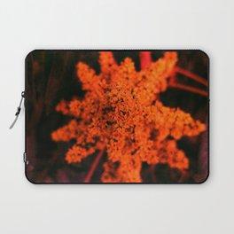 Orange Sumac Bloom Laptop Sleeve