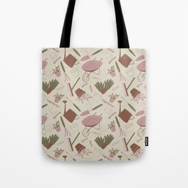 A Day in the Garden - Rose Tote Bag