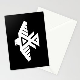Thunderbird flag - HQ file Inverse version Stationery Cards