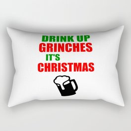 grinchies its Christmas festive Rectangular Pillow